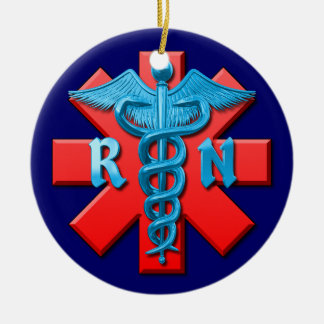 Registered Nurse Christmas Ornament