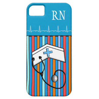 Registered Nurse Design iPhone 5 Barely There Case