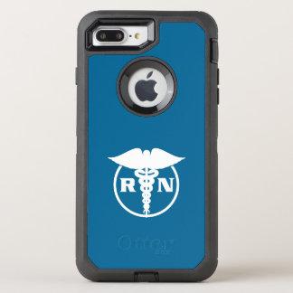 Registered Nurse Design OtterBox Defender iPhone 7 Plus Case