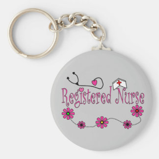 Registered Nurse Gifts Keychain