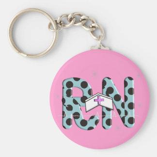 "Registered Nurse Gifts ""RN"" Key chain"