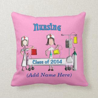 Registered Nurse Graduation Pillow 2014