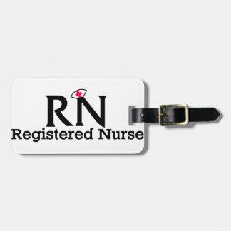 Registered Nurse Luggage Tag
