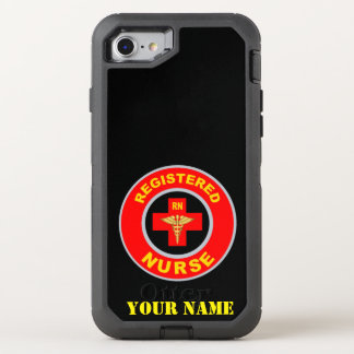 REGISTERED NURSE OtterBox DEFENDER iPhone 8/7 CASE
