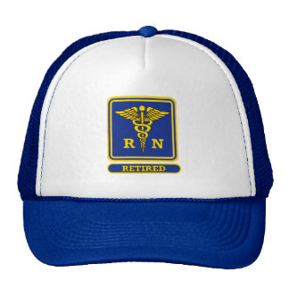 Registered Nurse Retired Cap
