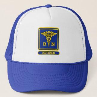 Registered Nurse Retired Trucker Hat