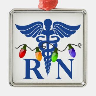 Registered Nurse (RN) Christmas Lights Ornament