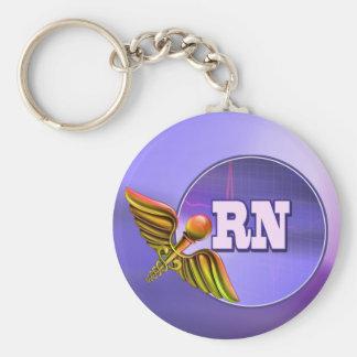 Registered Nurse RN Gift Keychain