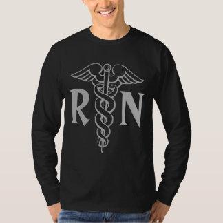 Registered nurse shirts | RN with caduceus symbol