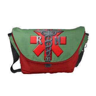 Registered Nurse Symbol Commuter Bag