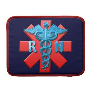 Registered Nurse Symbol MacBook Sleeve