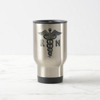 Registered Nurse Symbol Stainless Steel Travel Mug