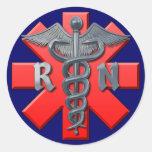 Registered Nurse Symbol Sticker