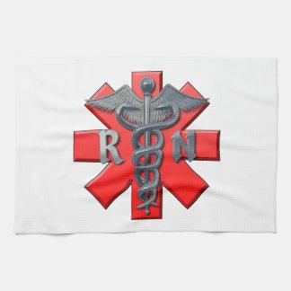Registered Nurse Symbol Towel