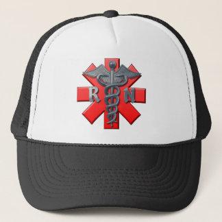 Registered Nurse Symbol Trucker Hat