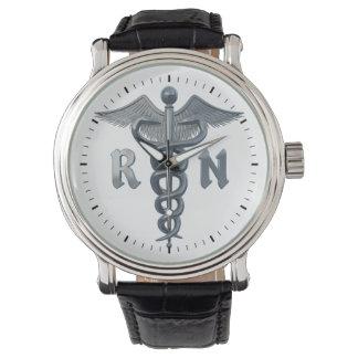 Registered Nurse Symbol Wrist Watch