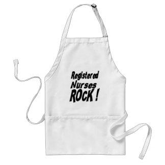 Registered Nurses Rock! Apron