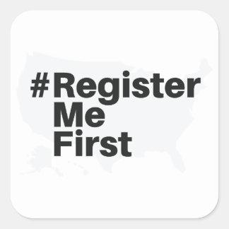 #registermefirst Sticker (2)