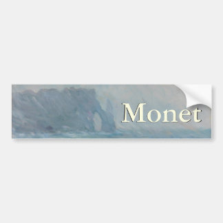 Regnvaer Etretat by Claude Monet Bumper Sticker