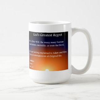 Regret Basic White Mug
