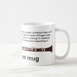 Regular sized 11 oz Clarinet mug