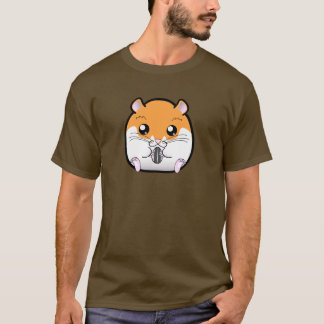 Regular Syrian Orange White Hamster T-Shirt