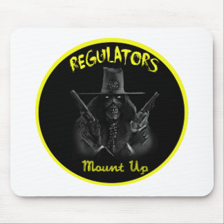 REGULATORS MOUSE PAD