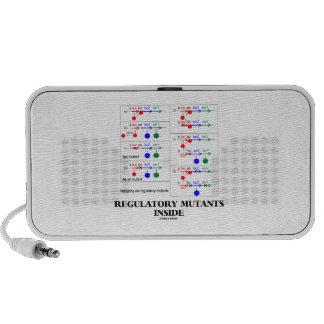 Regulatory Mutants Inside (Lac Complementation) Laptop Speakers