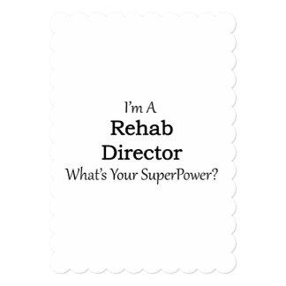 Rehab Director 13 Cm X 18 Cm Invitation Card