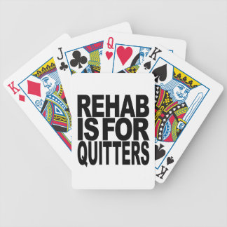 Rehab Is For Quitters Card Decks