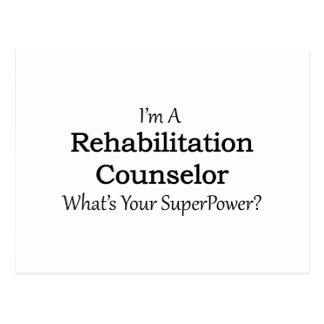 Rehabilitation Counselor Postcard