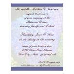 Rehearsal Dinner Blue Hydrangea Custom Invite