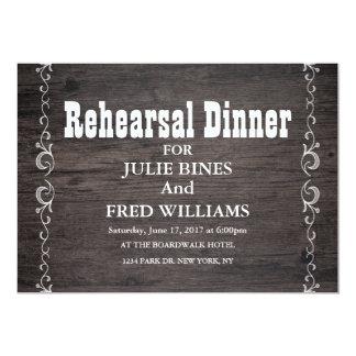 Rehearsal Dinner Card