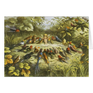 Rehearsal in Fairyland Card by Richard Doyle