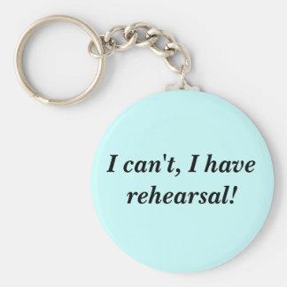 Rehearsal key chain