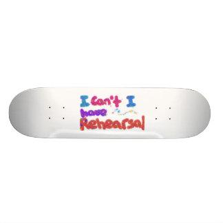Rehearsal Skatebord 20.6 Cm Skateboard Deck