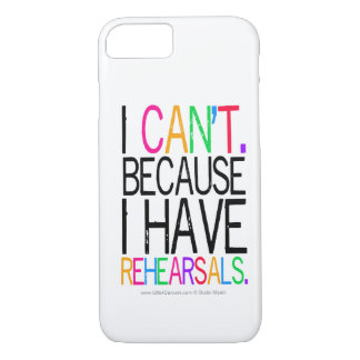 Rehearsals iPhone 7 case