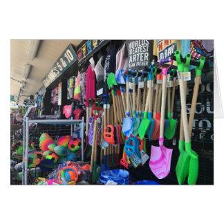 Rehoboth Beach Boardwalk Variety Store Toys Photo Card