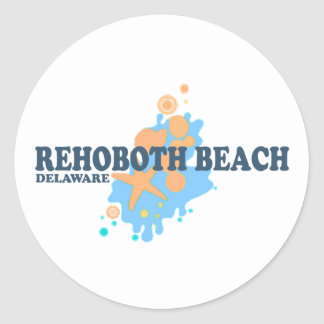 Rehoboth Beach. Classic Round Sticker