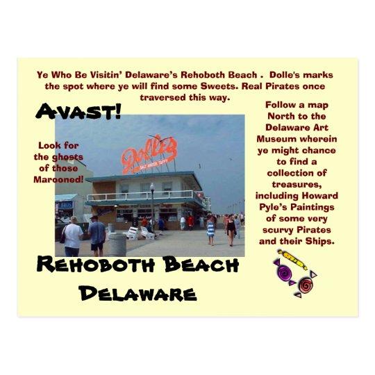 Rehoboth Beach, Delaware Postcard
