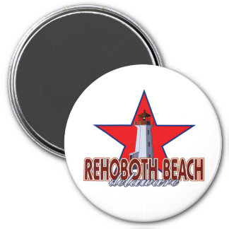 Rehoboth Beach Lighthouse Magnet