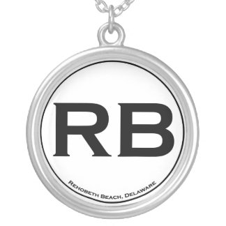 Rehoboth Beach Sterling Silver Silver Plated Necklace
