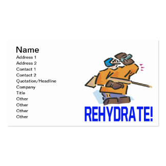 Rehydrate Pack Of Standard Business Cards
