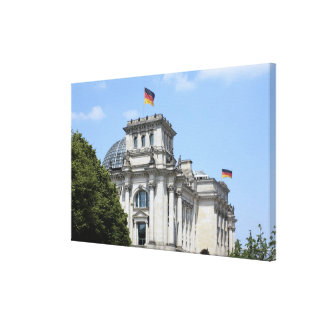 Reichstag, Berlin, Germany 2 Canvas Print