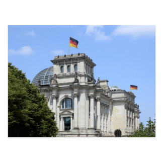 Reichstag, Berlin, Germany 2 Postcard