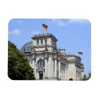 Reichstag, Berlin, Germany 2 Rectangular Photo Magnet