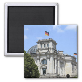 Reichstag, Berlin, Germany 2 Square Magnet