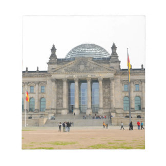 Reichstag building in Berlin, Germany Notepad
