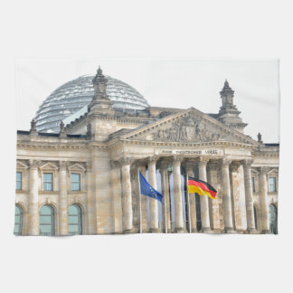 Reichstag building in Berlin, Germany Towel