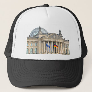 Reichstag building in Berlin, Germany Trucker Hat